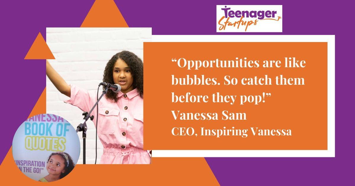 Vanessa Sam's story thumbnail