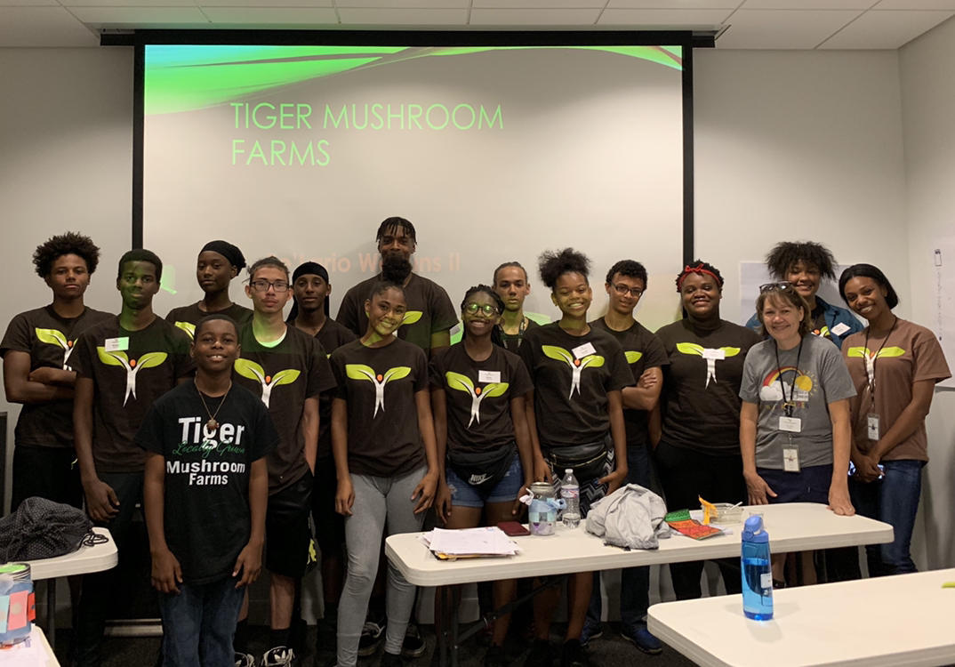 Tiger Mushroom Farms team