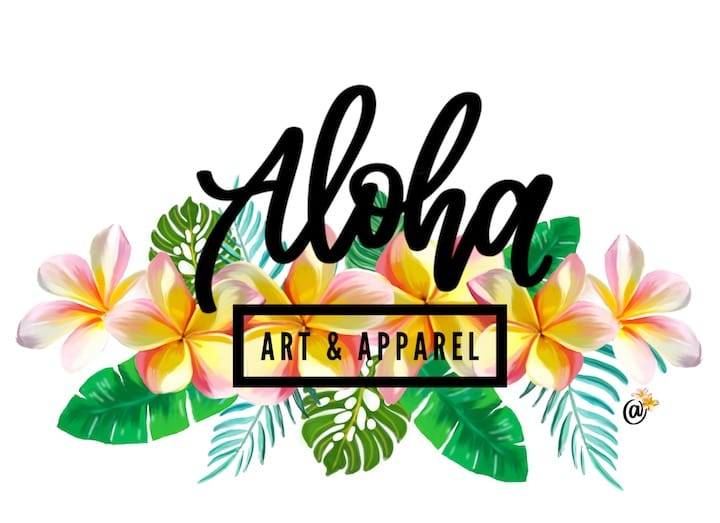 Aloha Art and Apparel  Logo