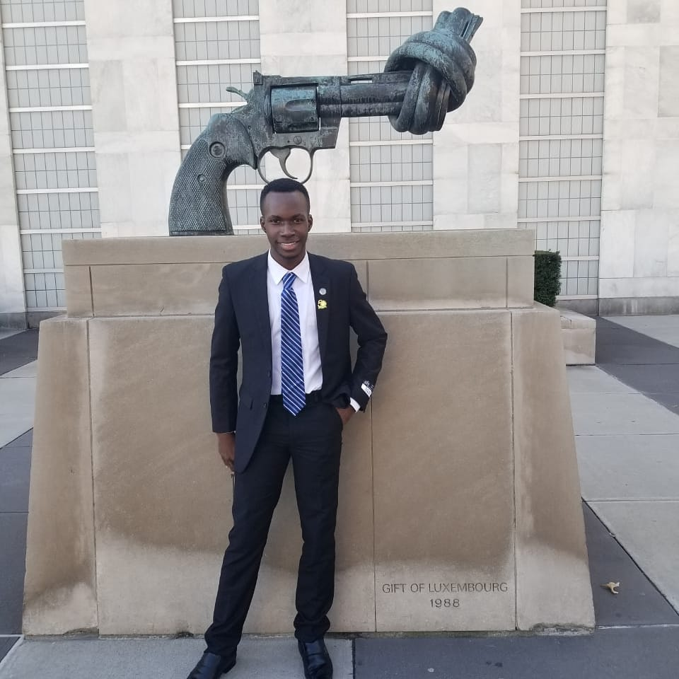 Tajay Francis attending MUN in New York